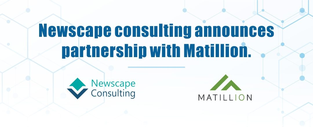 Newscape consulting LLC announces partnership with Matillion.